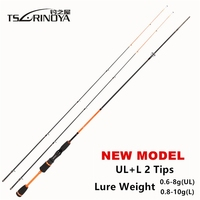 TSURINOYA JOY TOGETHER IV 1 8m UL L Tow Luminous Tips Ultra Light Fishing Spinning Rod