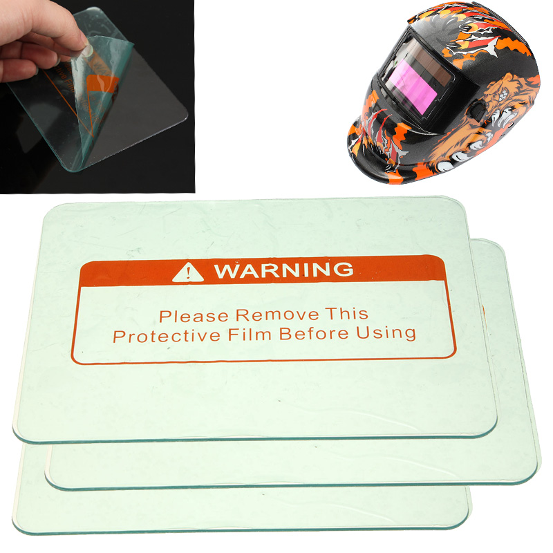 1PCS 4.5'' X 3.5'' Clear Welding Cover Lens Protect Plate For Welding Helmet Mask
