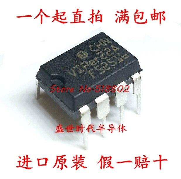 10 шт./лот VIPer22A VIPer22 DIP 8 в наличии|Интегральные схемы|   | АлиЭкспресс