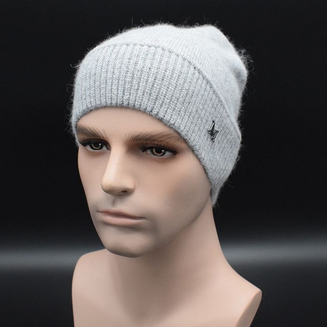 2017 New European winter Men's Hat high quality Men's wool hat Street Casual warm knitted cap Winter hat for Men Bonnet Caps