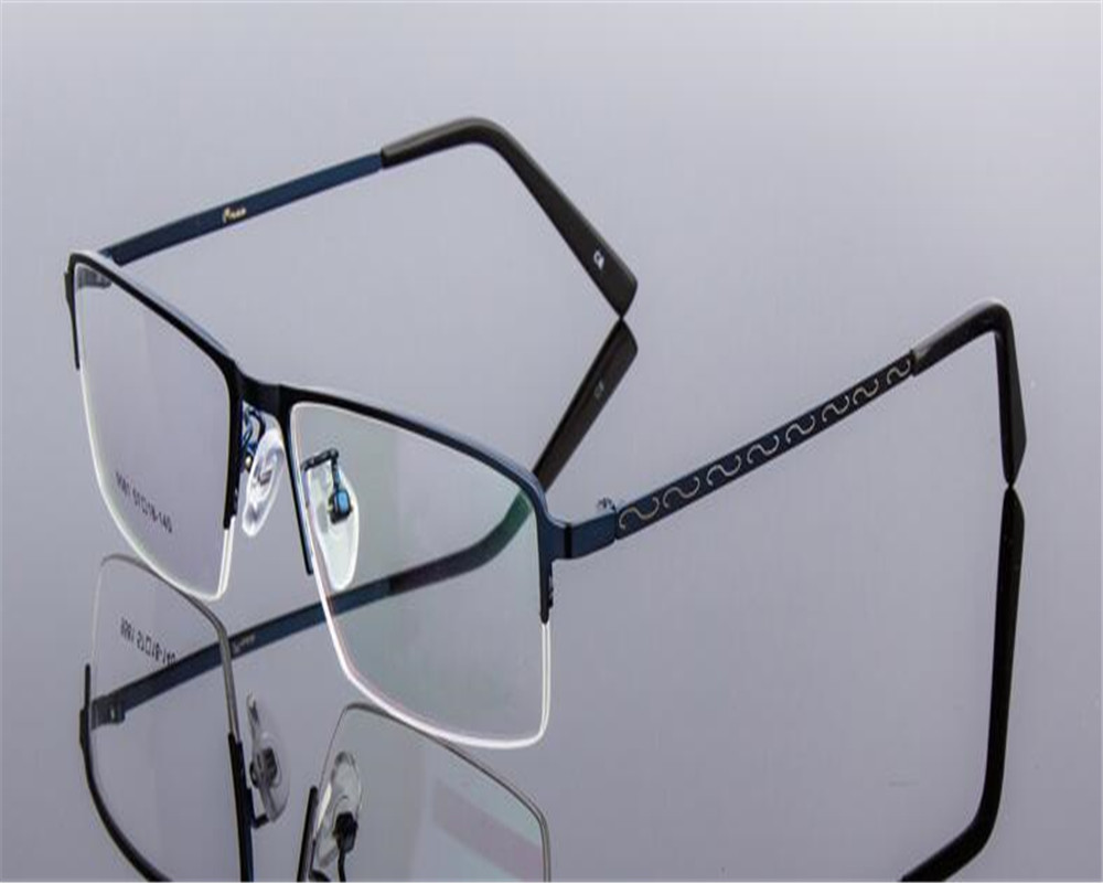 dower me reading eyeglass business light men half rim progressive multi focal see near far eyewear optical frame bs9581