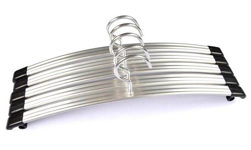 Giysi için en kaliteli Altın Gümüş Alüminyum Alaşım Askı, - Evdeki Organizasyon ve Depolama - Fotoğraf 5