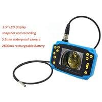 OD5.5mm гибкие Borescope идеально подходит для канализационных труб инспекции автомобиля диагностический цифровой промышленной инспекции Камера