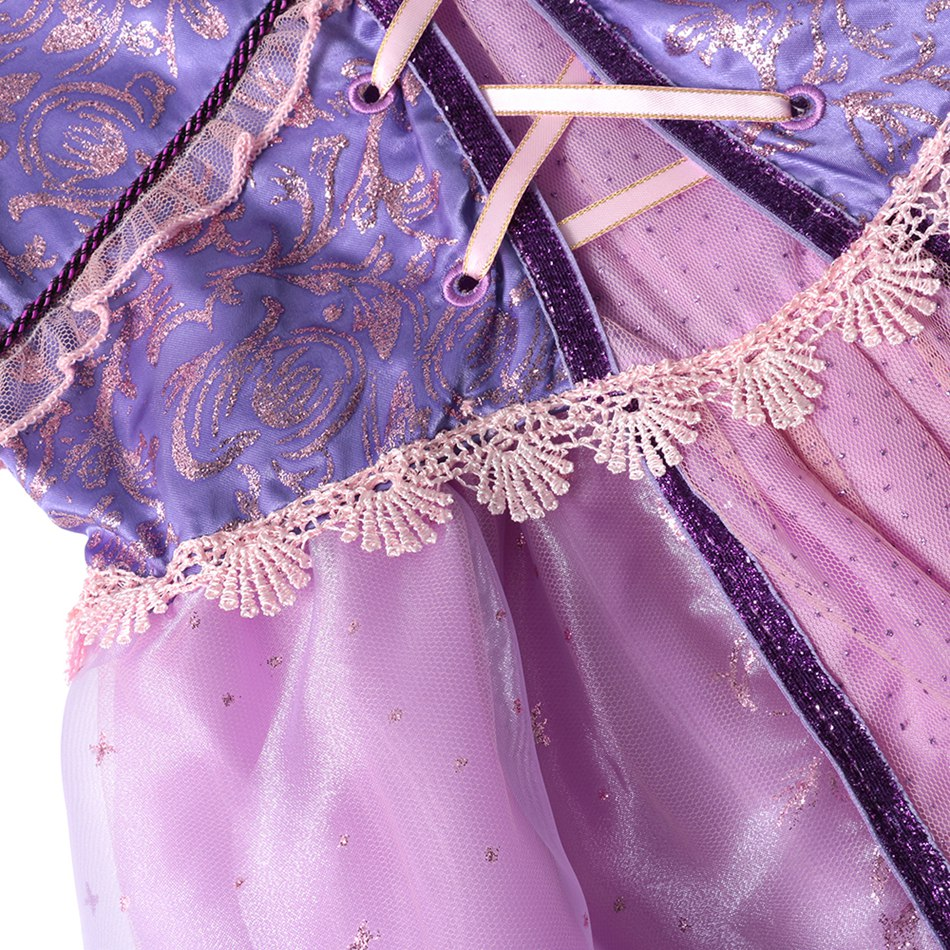Girls Rapunzel Dress up Clothes (9)