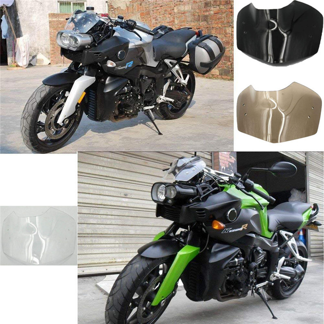 Motorcycle Front Windscreen Windshield For Bmw K1200r 1200r 2005