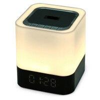 2017 New LED Speaker Wireless Bluetooth Speaker Alarm Clock LED Time Mini Speakers For Iphone Android