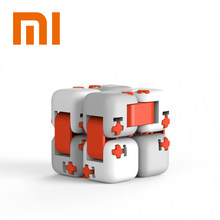 Asli XiaoMi Blok Bangunan Tak Terbatas Flippable Jari Spinner untuk Anak-anak Safety Portable Builder Smart Mijia Mi Mini Mainan Anak(China)
