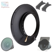 150mm Circular Filter Hood + 170*170mm Square Filter Slot Holder Kit System for Canon TS E 17mm f/4L F4 F4L Lens