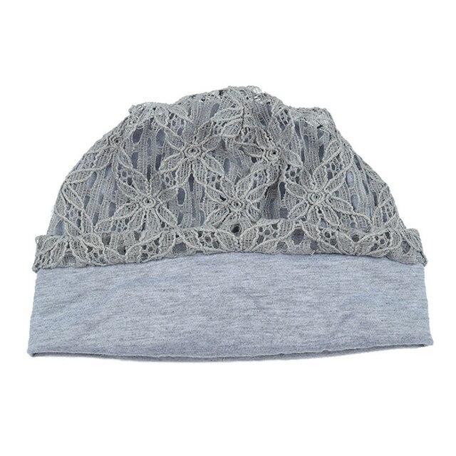 Turban Hats For Women Fashion Flower Female Stylish Butterfly Beanies Hat 4