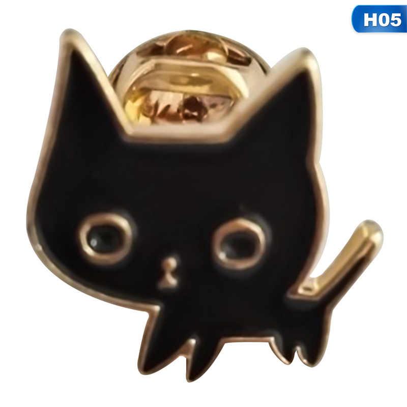 Шампанское купе блюдце Розочки в форме сердца форма Белый Кот Черный кот нагрудные булавки животное брошь