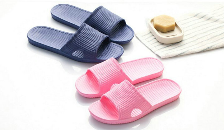 Cheap Price New Summer Home Bathroom Slippers Indoor Anti Slipper Soft Bottom Family Woman Man Slippers (2)
