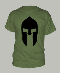 SPARTAN HELMET SPARTA t-shirt short sleeve many colors unisex More Size and Colors-A285