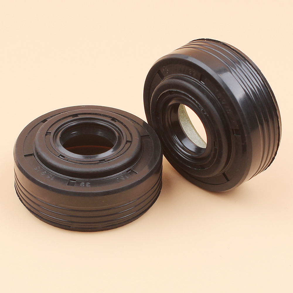 2PCS/LOT CRANK OIL SEAL SET FOR JONSERED 2141 2145 2150 503932302 CHAINSAW SPARE PARTS