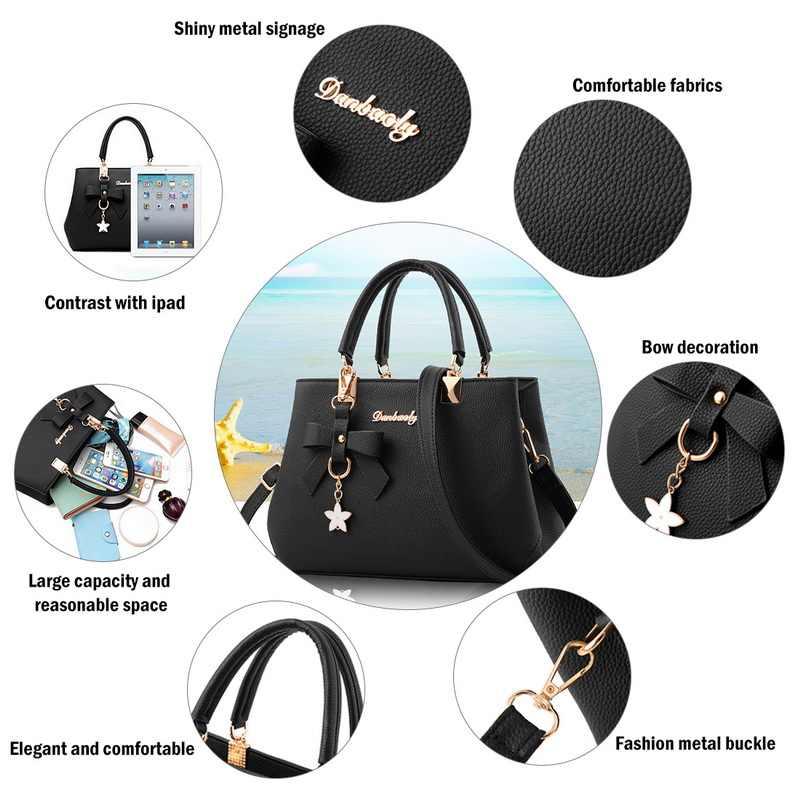 17f49dcc708d9 ... NIBESSER 2018 Elegant Shoulder Bag Women Designer Luxury Handbags Women  Bags Plum Bow Sweet Messenger Crossbody ...