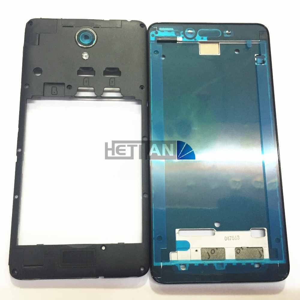 Original Middle Housing Frame Cover + LCD Front Display Frame Bezel For Xiaomi Redmi Note 2  Middle Frame Replacement