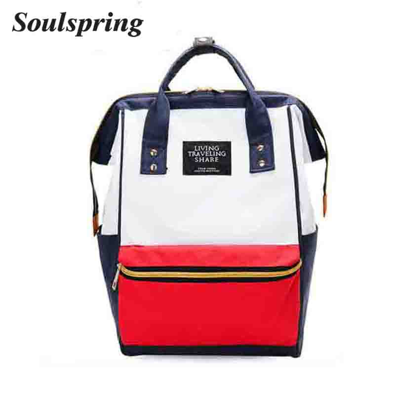 2018 Best Travel Women Backpack Japan Ring Bag Summer Female Backpack Student Girls School Shoulder Bag Rucksack Mochila Bagpack