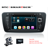 SMARTECH 2 Din Android 6 0 1 Car DVD Player GPS Navigation Autoradio For Seat Ibiza