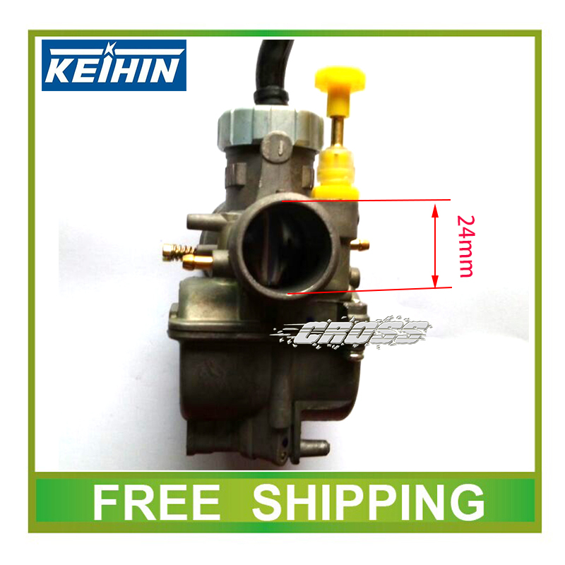 24mm 27mm 28mm carburetor PE24 pe27 pe28 racing power performance KEIHIN carburetor NSR JOG50 RSZ dio50 scooter motorcycle nibbi 27 28 30mm pe27 28 30 round side carburetor fit to racing motor gy6 refires large caliber jog rsz cvk free shipping
