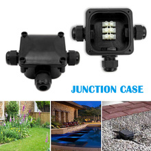 Multifunction Junction Box IP68 Waterproof with 3 Cable Connections 230V QJS Shop