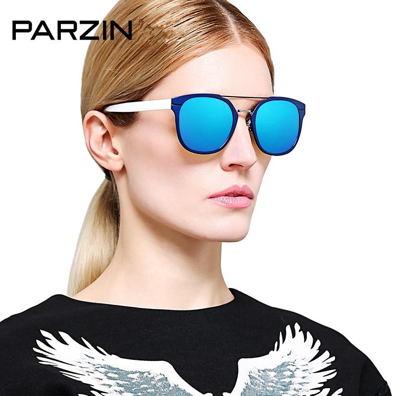 Sonnenbrille 9823 Damen Fahren 90 Uv Weibliche pink Black Bunte Doppel Frauen coffee Sommer Parzin Strahl Polarisierte blue Gläser Tr q81PE06w7