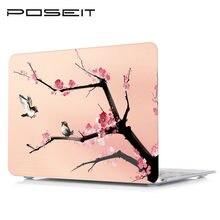 Чехол для планшета чехол ноутбука с цветным принтом Жесткий