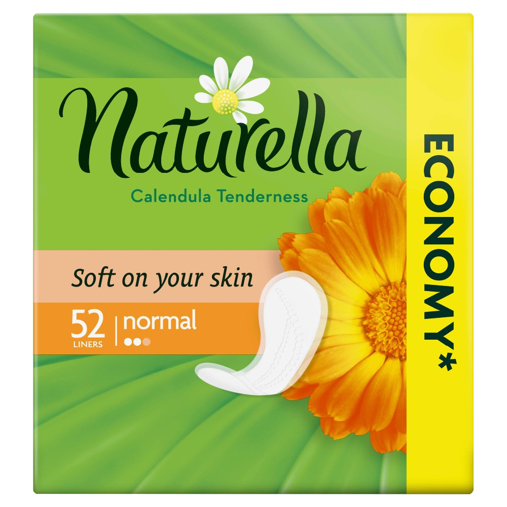 NATURELLA Women's sanitary pads for every day Tenderness Normal (with the aroma of calendula) Trio 52 pcs