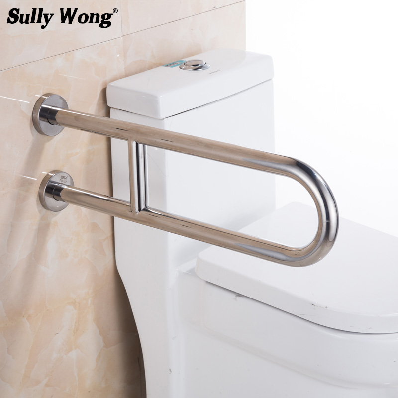 Sully House 304stainless Steel Bathroom Toilet Safety Rails Disabled And Old People Barrier Free Handrail Closest Bathtub Handle Aliexpress Imall