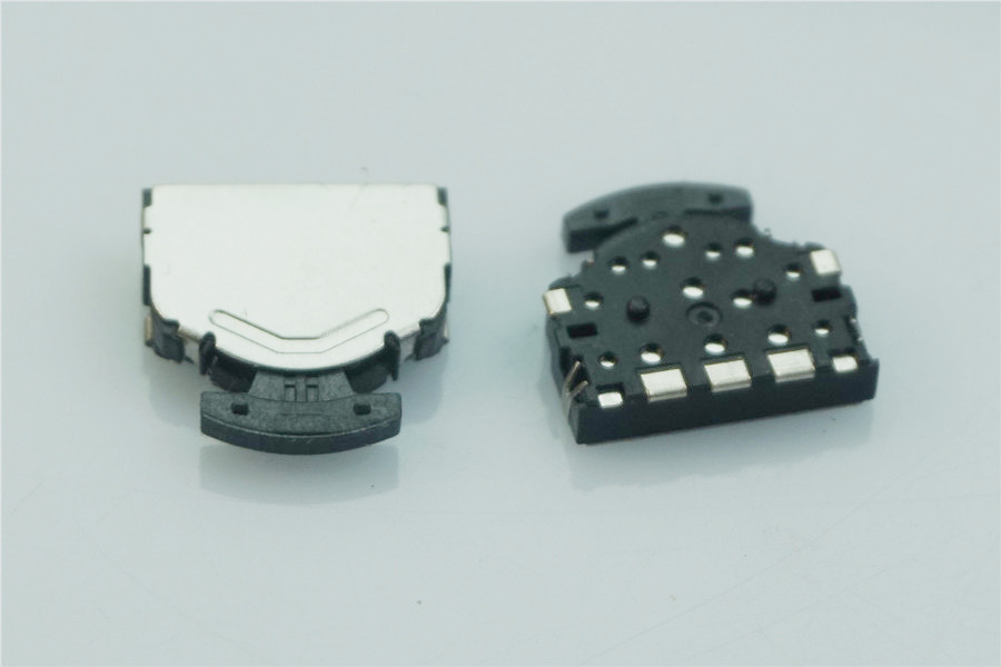 100pcs Lever and Push Button <font><b>Tact</b></font> <font><b>switch</b></font> momentary operation by lever and push Button Single <font><b>knob</b></font> SMD Reflow Solder image