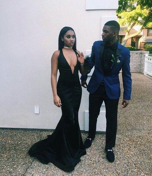 Black Dress for Prom