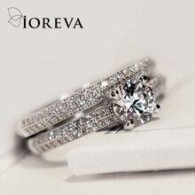 Casamento anillos anel feminino zirconia engagement cz mujer diamond rings band