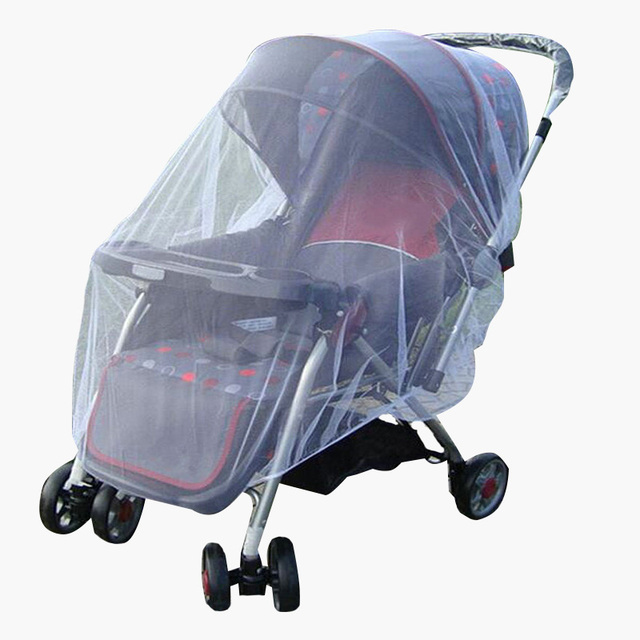 Baby Stroller Pushchair Mosquito Insect Shield Net Safe Infants Protection Mesh Stroller Accessories Mosquito Net 2017 1