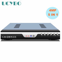 5 in 1 4CH 8CH 4MP AHD DVR video recorder combo 4 channel 8 channel hybrid DVR NVR for CCTV Security 4mp IP CVI TVI AHD Camera