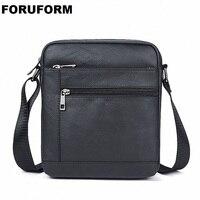 Genuine Leather Men Bag Fashion Leather Crossbody Bag Shoulder Men Messenger Bags Small Casual Designer Handbags Man Bag LI 2144