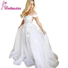 Vestidos de novia 2020 boho Свадебные платья с фатиновой аппликацией