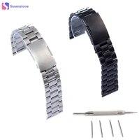 Hot Sale 22mm Stainless Steel Watch Band Women Men Bracelet Wrist Watch Brand For Pebble Time