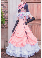 2019 Hot Anime Black Butler Ciel Phantomhive Cosplay Dress Princess Clothing Halloween Party Costume Whole Set With Hat Glove