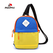 RUIPAI Hit Color Kids Baby's Bags Children's Schoolbag High Quality Light Mini Backpack Multi-color Portable Backpack