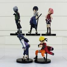 5 Pcs Anime Naruto Action Figure Model