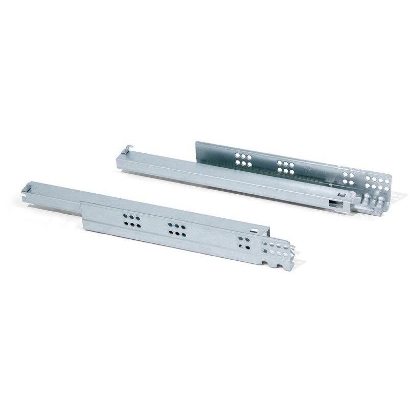 EMUCA 4008205-juego barre de guidage dissimulée glissière totale pour profondeur de tiroir 540mm