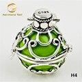 H4-22 оптовая продажа плавающей медальон кулон 1 шт. 22 * 20 мм медь гармония мяч шкентель ангел абонент для женщины и ребенка