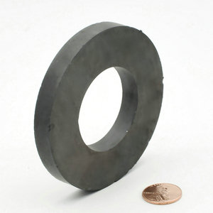 """Image 5 - Magnes ferrytowy pierścień średnica zewnętrzna 80mm 3 """"duża klasa C8 ceramiczne magnesy dla majsterkowiczów głośnik głośnik pokładzie użytku domowego 1pc"""
