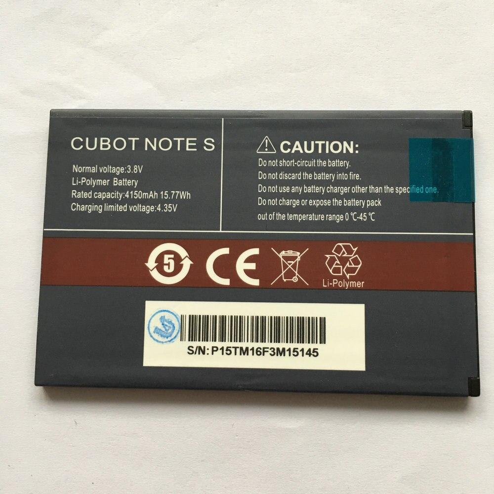 Батарея для мобильного телефона CUBOT NOTE S 4150mA Li Ion Bateria 100% протестирована на складе battery for battery for mobilebattery for phone   АлиЭкспресс