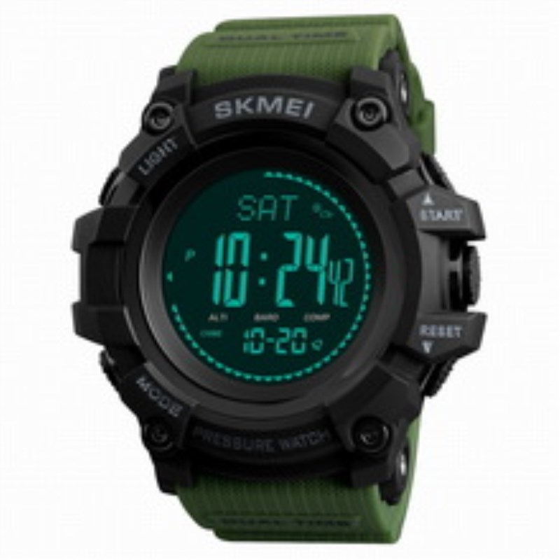 Sport Clock Watch Men Altimeter Pressure Thermomet Weather Pedometer Calories Compass Multifunction LED Digit Wrist Watches Men skmei men watch sport altimeter pressure thermomet weather pedometer calories compass multifunction led digit wrist watches men