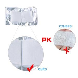 Image 4 - 20 50 100pcs Desinfectie Alcohol Prep Pad Verzegelde Steriele Medicinale Pad Voor Home Reizen Outdoor Kamp Ehbo Kits Accessoires