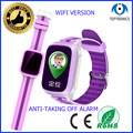 1.44colorfull waterproof track gps location kids watch phonewatch with wifi 450mah battery remote monitoring for ios and android