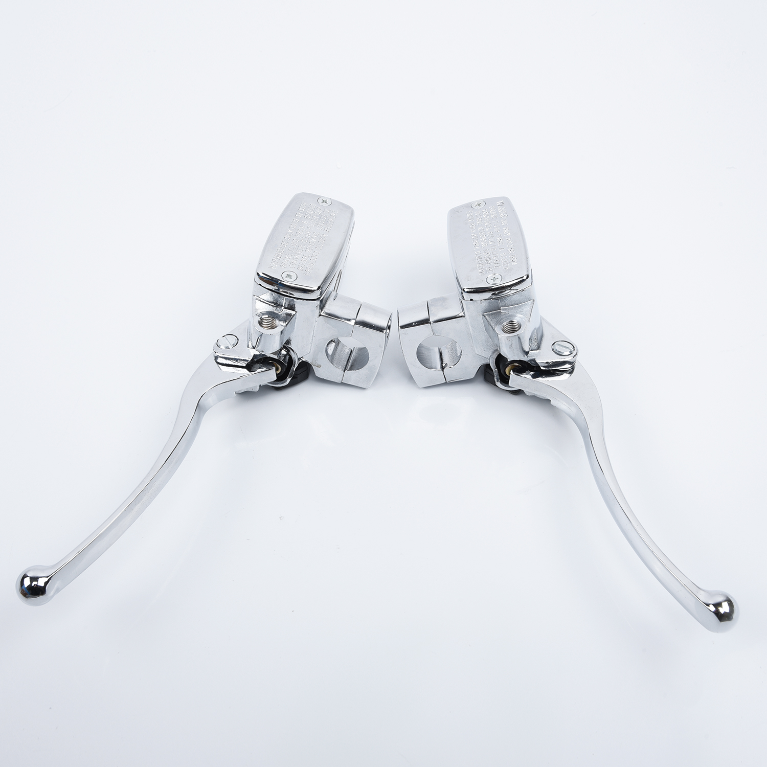 Chrome Brake Master Cylinder Clutch Levers For Suzuki Intruder 800 1400 1500  Improving The Safety And Durability|Front & Rear Wheel Brake Cylinder| |  - title=