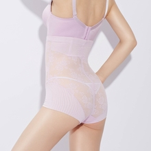 Lady 1pc M-XXL Plus Size Slimming Control Panties Women Tummy Trimmer Body Shaper Butt Lifter Underwear Magic Breathable Briefs