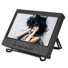 Горячая 7 дюймов портативный монитор 1024x600 мульти-функциональный дисплей Поддержка HDMI/VGA/AV вход