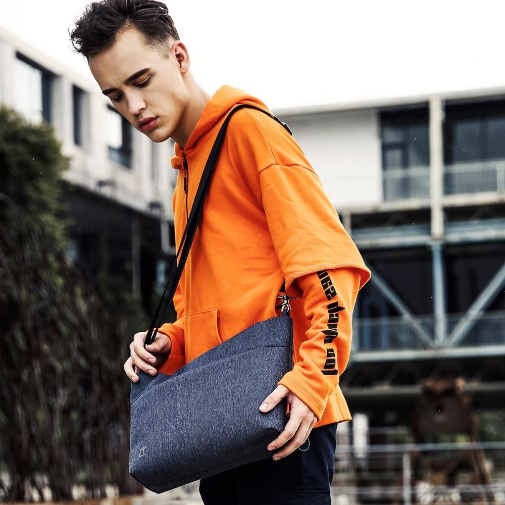 Reise Kapazität Gray Männer Casual Marke 2018 Bags Brust Wasserdichte Neue Große 7 Pack blue Gray 9 Umhängetaschen Zoll Dark Tangcool Für Ipad Messenger fAxzFaaw