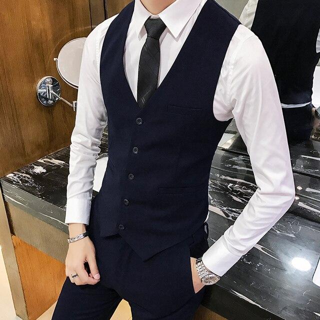 Hombre Yg7byf6 Traje Alta Calidad Chaleco 2019 Para De